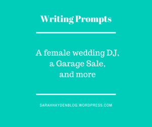 dj garage sale prompt